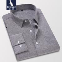 DaiShu 袋鼠 1B13661924 男士长袖衬衫