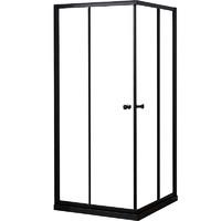 JOMOO 九牧 M5E11 一体式钢化玻璃淋浴房 黑色款