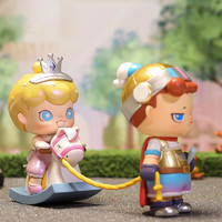 POP MART 泡泡玛特 MIGO骑士与PENNY公主吊卡公仔