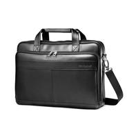 Samsonite 新秀丽 Leather Slim Portfolio Laptop 公文包