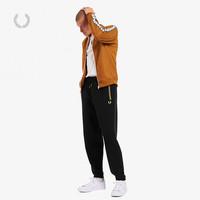 FRED PERRY 佛莱德·派瑞 男士休闲裤秋季新款麦穗刺绣英伦宽松运动长裤T8510