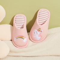 balabala 巴拉巴拉 儿童棉拖鞋 梦幻粉60325 26码