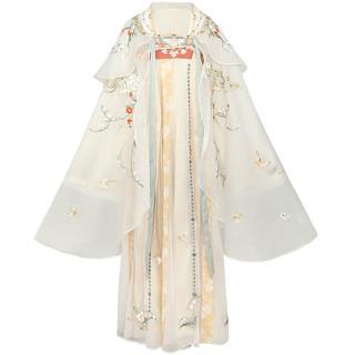十三余 小豆蔻儿 是风动-银临联名  唐制齐胸破裙 改良汉服 SHF112558