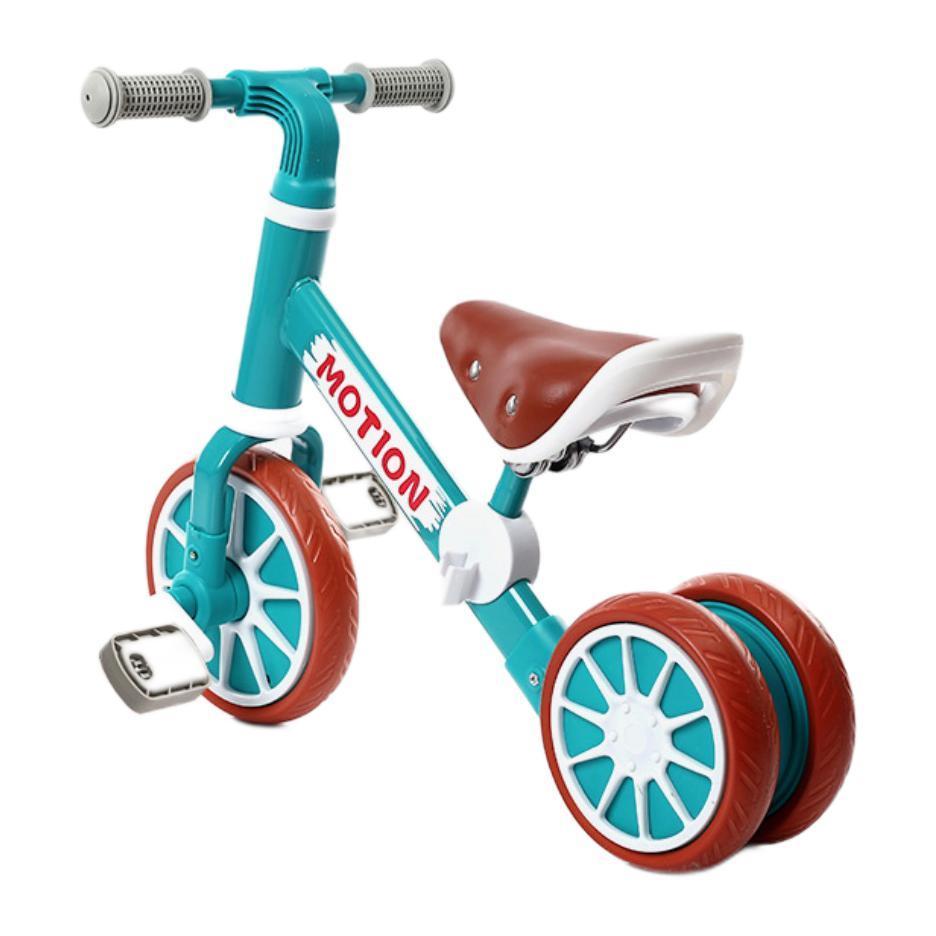 usbon 益生贝美 儿童脚踏平衡车 绿色