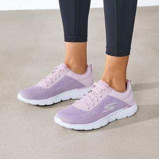SKECHERS 斯凯奇 Skechers斯凯奇2021年新品女子跑鞋舒适跑步鞋轻便网布休闲运动鞋