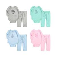 Minizone 婴儿三角哈衣+长裤两件套