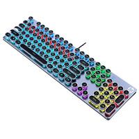 HP 惠普 GK400F 机械键盘 黑色混光青轴