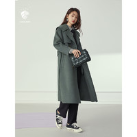 FANSILANEN 范思蓝恩 女士双面呢大衣 Z204152