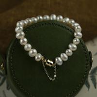 TekapoJade 1072 女士珍珠手链