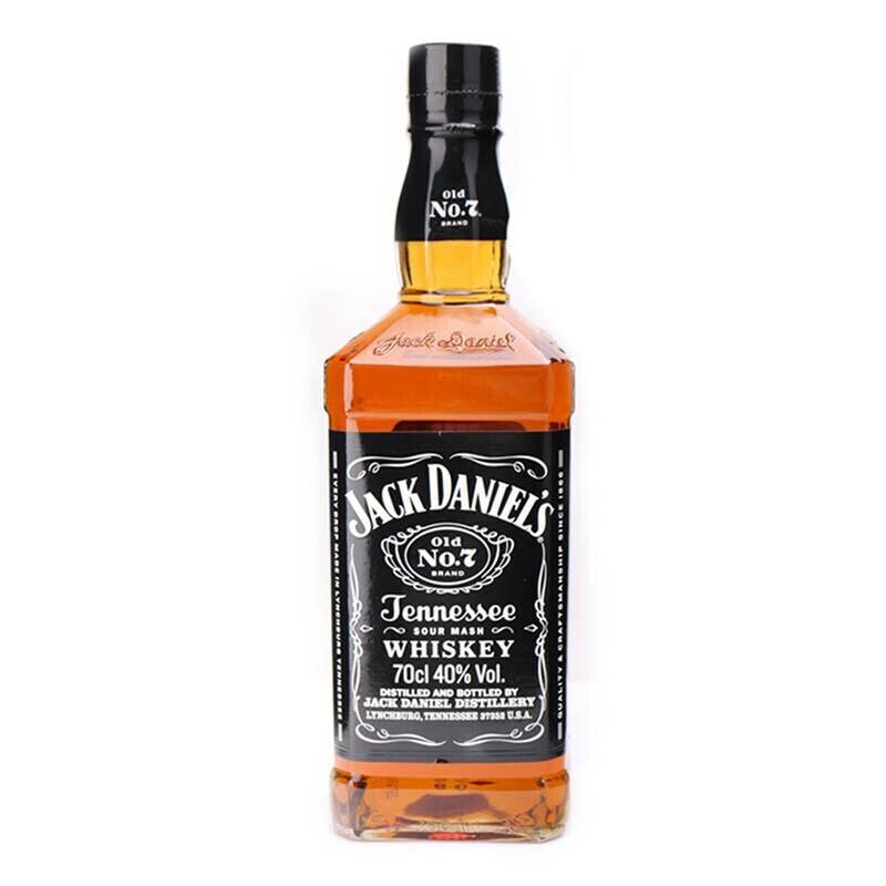 JACK DANIELS 杰克丹尼 田纳西州威士忌 40%vol 700ml