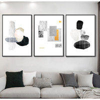 款式-15 40x60cm 轻奢组合三联 现代简约客厅 装饰画