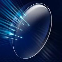 康视顿 1.67折射率 防蓝光非球面镜片2片(送康视顿150元内镜框一副)
