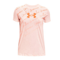 UNDER ARMOUR 安德玛 Repeat Graphic 1365135 女子运动短袖T恤
