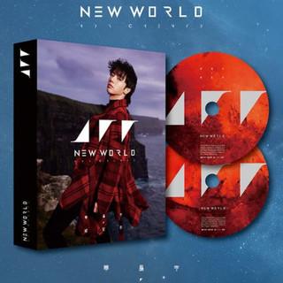 现货正版华晨宇四专 新世界实体专辑NEW WORLD降临地球双CD版 T版