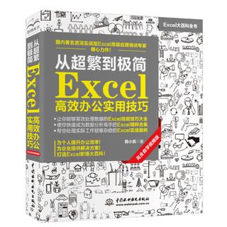 《从超繁到极简:Excel高效办公实用技巧》(视频教程+彩色印刷)
