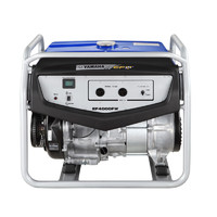 YAMAHA 雅马哈 原厂四冲程汽油发电机组 单相220V 手启动 额定2.9KW 标配 EF4000FW 1台