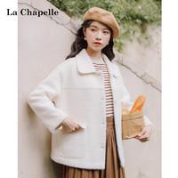 La Chapelle 拉夏贝尔 女士短款毛呢外套