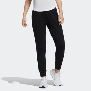 adidas 阿迪达斯 秋季新款阿迪达斯时尚女子针织长裤运动休闲训练裤子女装小脚裤