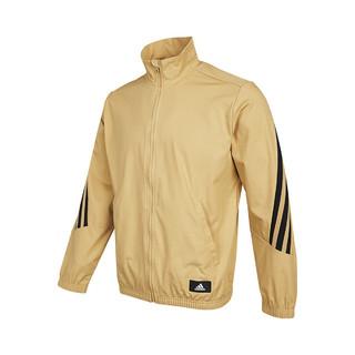 adidas 阿迪达斯 秋季新款时尚百搭男子梭织夹克运动休闲训练立领外套宽松男装