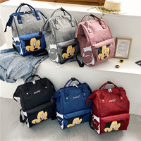 Disney 迪士尼 工装学生港风街拍书包 旅行背包