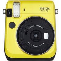 FUJIFILM 富士 instax立拍立得 一次成像相机 mini70 暖日黄