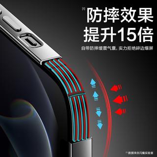 SMARTDEVIL 闪魔 苹果12手机壳iPhone12ProMax超薄透明防摔硅胶保护套新款适用于十二pro女款男高级软壳个性Mini创意外壳