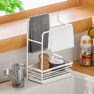 NC 纳川 台面置物架抹布沥水收纳架子洗碗布池水槽毛巾厨房水龙头海绵壁挂