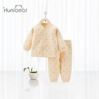 huanxixiaoxiong 欢喜小熊 婴儿夹棉套装