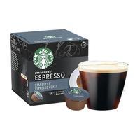 有券的上:STARBUCKS 星巴克 意式浓缩 胶囊咖啡 66g
