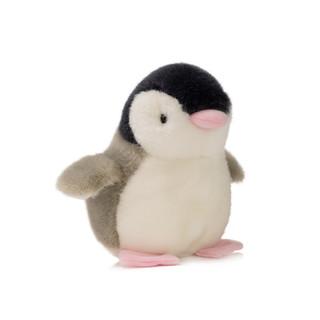 京东PLUS会员 : GLOBAL BOWEN BEAR 柏文熊 Q企鹅公仔毛绒玩具布娃娃玩偶12cm