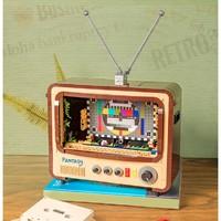 Pantasy 拼奇 文艺复古系列 61008 复古电视机