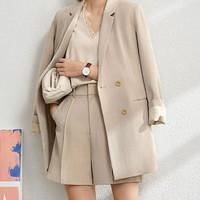 AMII Amii女装轻熟风套装职业装西装西服2021春夏季通勤高级感早秋时尚