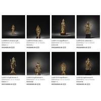 香港【反思与启示:简与利奥波时期的中国佛教镀金青铜器】专场 2021-10-13 11:00:00(北京时间)开拍