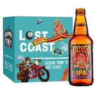 LOST COAST 迷失海岸 象神IPA啤酒 355ml*6瓶