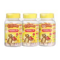 L'il Critters 丽贵 儿童钙+维生素D3小熊糖