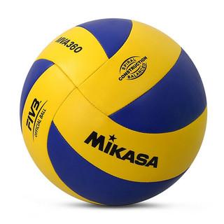 MIKASA 米卡萨(mikasa) 排球 国际排联官方标准用球5号标准PU材质训练比赛排球 MVA360