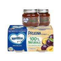 Mellin 美林 婴儿西梅果泥 100g*2罐