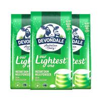 Devondale 德运 成人奶粉 1kg*3袋