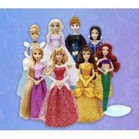 薇娅热播:Disney 迪士尼 2021新版 经典公主娃娃礼盒