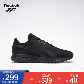 Reebok 锐步 官方2021秋季新款男女GY0744时尚舒适跑步鞋 GY0744_黑色/深灰色 42
