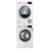 BOSCH 博世 WAP282602W+WTW875601W 洗烘套装