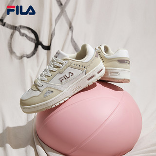 FILA 斐乐 官方女子低帮板鞋2021年秋季新款运动鞋休闲小白鞋篮网