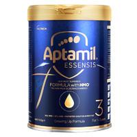 限新客:Aptamil 爱他美 奇迹蓝罐系列 幼儿配方奶粉 3段 900g
