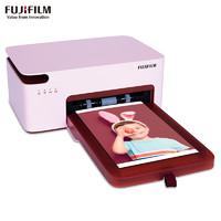 亲子会员专享 : FUJIFILM 富士 PSC2D 小俏印二代 手机照片打印机(内置电池版) 粉色