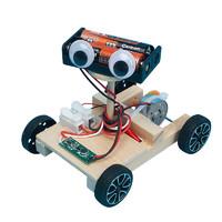 氧氪 DIY声控车机器人科学实验材料包