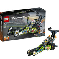 LEGO 乐高 机械组系列 42103 亮绿色改装赛车