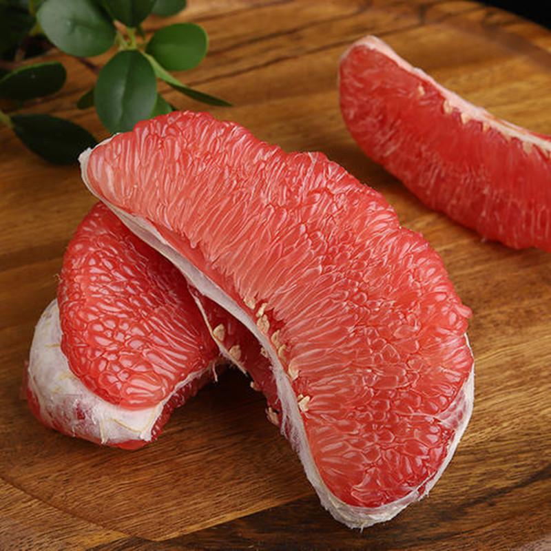 BAIGUOJING 百果精 福建红心蜜柚   带箱9斤(3-5个)