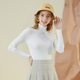 La Chapelle 拉夏贝尔 Puella拉夏贝尔旗下半高圆领针织衫女套头春装新款韩版春毛衣