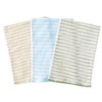 贝肽斯 BC702 婴儿护肚围 3条装 棕条+绿条+蓝绿款