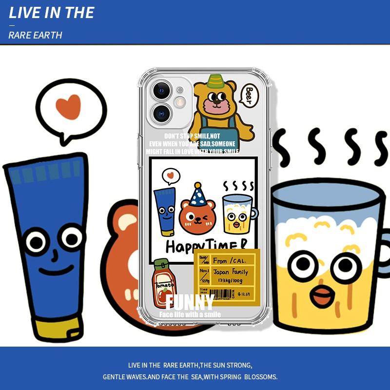 苹果系列 卡通手机壳